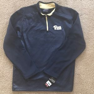 NWT Pitt half zip fleece